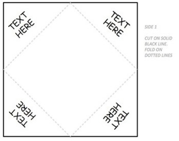 Foldable Template by To the Square Inch- Kate Bing Coners
