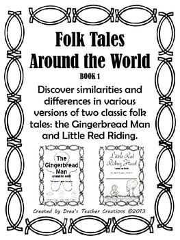 Folktales Around the World Traveler's Guide Book 1 by Drea
