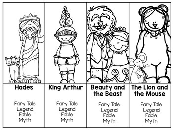 Folktales (Fairy, Myth, Legends, Fables) Power Point and