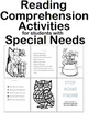 Following Directions Reading Comprehension Strategies