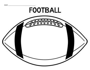 Football and Cheerleader Graphic Organizer by Nicholson