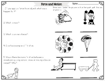 Force: Gravity and Friction {Differentiated Reading