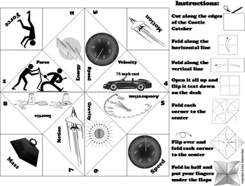 Force and Motion Activity: Energy, Gravity, Speed and