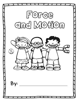 Force and Motion Science Journal by Mrs Kovic's