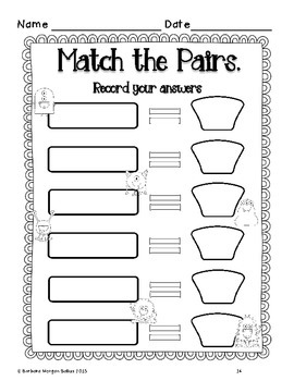 Four Addition Math Centers {Monster Math} Common Core
