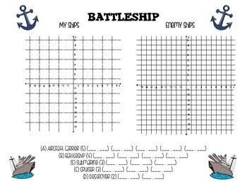 Four Quadrant & One Quadrant Battleship by May The Class