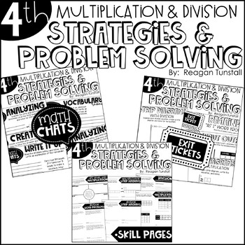Fourth Grade Bundle Multiplication and Division Strategies