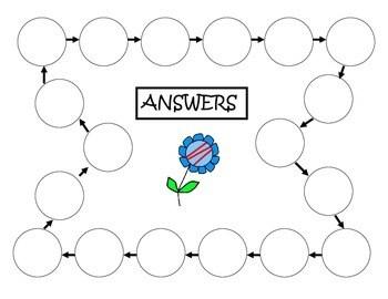 Fourth Grade Math Review Scavenger Hunt 3 by Carolina