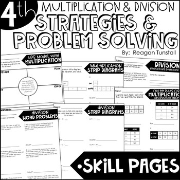 Fourth Grade Skill Pages Multiplication & Division