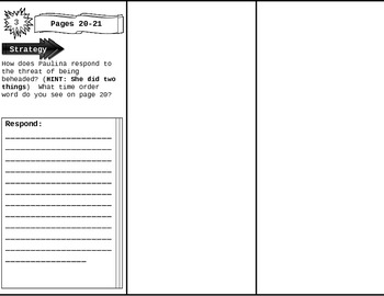 Fourth Grade Wonders Unit 1 Week 1 Anthology Trifold by