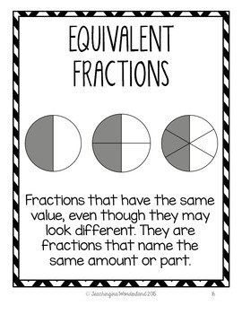 {Grade 6} Fractions Activity Packet by