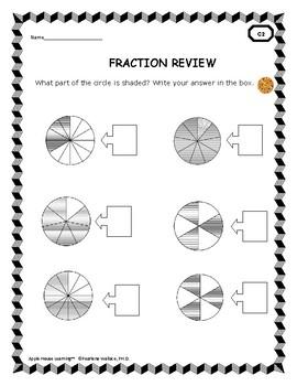 Fraction Bundle: Equivalent, Comparing Fractions, Word