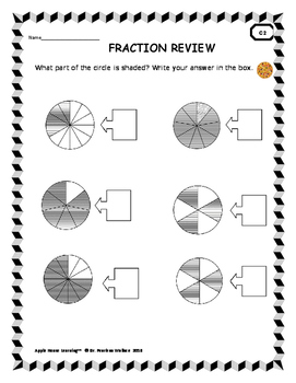 Pizza Fractions: Comparing Fractions, Fraction Worksheets