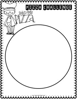 Fractions Activity: Pizza Challenge by Elementary Lesson