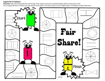 Fractions (2010) Envision Math 2nd Grade Topic 12 CCSS by