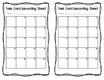 Fractions, Decimals, and Percents Task Cards by Create