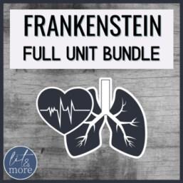 Frankenstein Unit Bundle - AP Lit and More