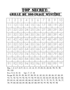 Free bilingual chart mystery picture apple also by mllemack tpt rh teacherspayteachers