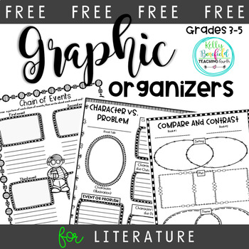 Free Character vs. Problem Graphic Organizer by Kelly