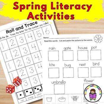 Spring/Easter Literacy Activities for Kindergarten