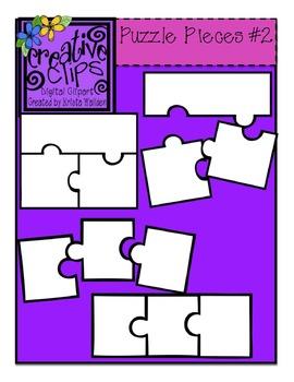 Free Clip Art Puzzle Pieces : puzzle, pieces, {Free}, Puzzle, Piece, Templates, {Creative, Clips, Digital, Clipart}