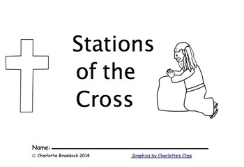 Free Stations of the Cross Booklet for Children by