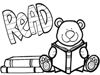 Freebie Back To School Coloring Pages by What's The Buzz