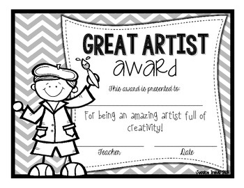 Freebie! {End-of-Year Awards} *Black & White* by Jessica