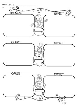 Freebie! Get your Snow On! Graphic Organizers and