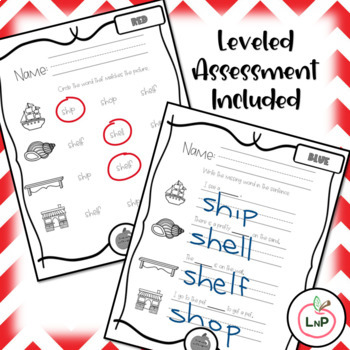 Freebie Sample Differentiated Literacy Center Worksheets
