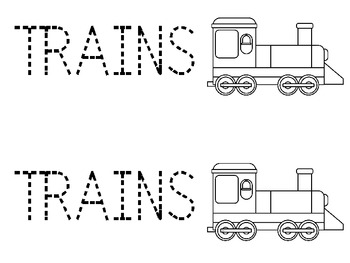 Freight Trains: A Preschool Unit of Basic Concepts and