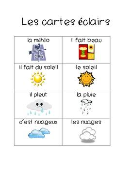 Quel Temps Fait-il : temps, fait-il, French, Activity, Weather