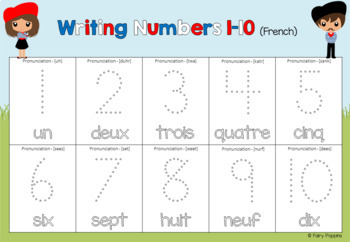 french counting mats number