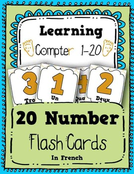 numbers flash cards counting