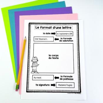 Le Corps De La Lettre : corps, lettre, French, Letter, Writing/Comment, écrire, Lettre, McIntosh