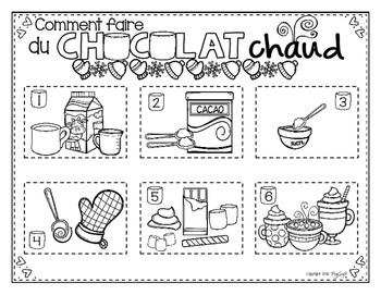 Comment faire du chocolat chaud French Procedural Writing