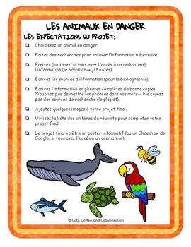 Animal En Voie De Disparition : animal, disparition, French, Project:, Endangered, Animals, Animaux, Disparition)