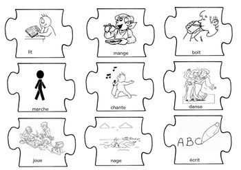 French Writing Prompts Puzzle by French Language Resources