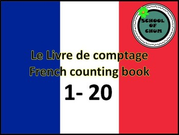 french counting book and