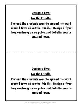 Frindle by Andrew Clements: Activities and Test by