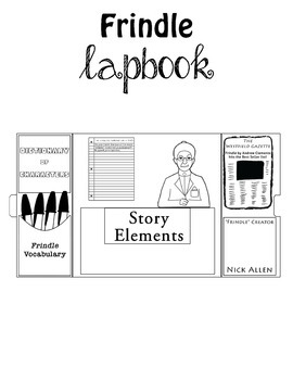 Frindle Bundle- Comprehension Worksheets and Lapbook by