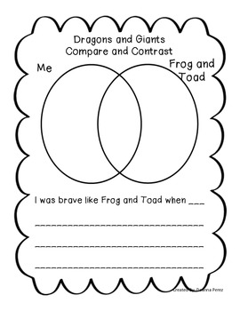 Frog and Toad Together Unit of Study Fiction and