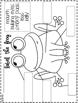 Froggy Fun (frog craft and printables) by Thrills and