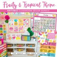 Fruity & Tropical Theme Classroom Decor Pack by Sweet ...