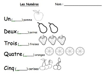 Fun Activities for French Colours, Numbers and Shapes