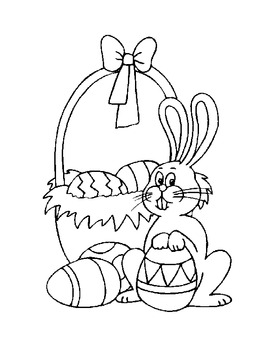 Fun Freebie for Easter-Two Coloring Sheets for Fun by