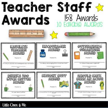 fun teacher and staff
