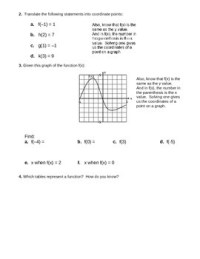 Function Notation Worksheet 2 by camfan54 | Teachers Pay ...