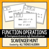 Worksheet 9 4a Function Operations Answers - Kidz Activities
