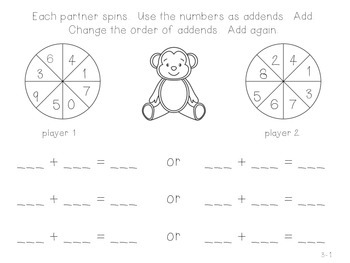 GO Math! 1st Grade Chapter 3 Activities (Addition